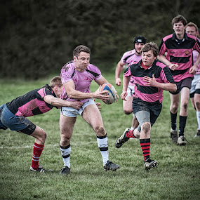 Open Play by Vin Scothern - Sports & Fitness Rugby ( sport, rugby )