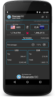 Currency Converter Finanzen100 - screenshot thumbnail