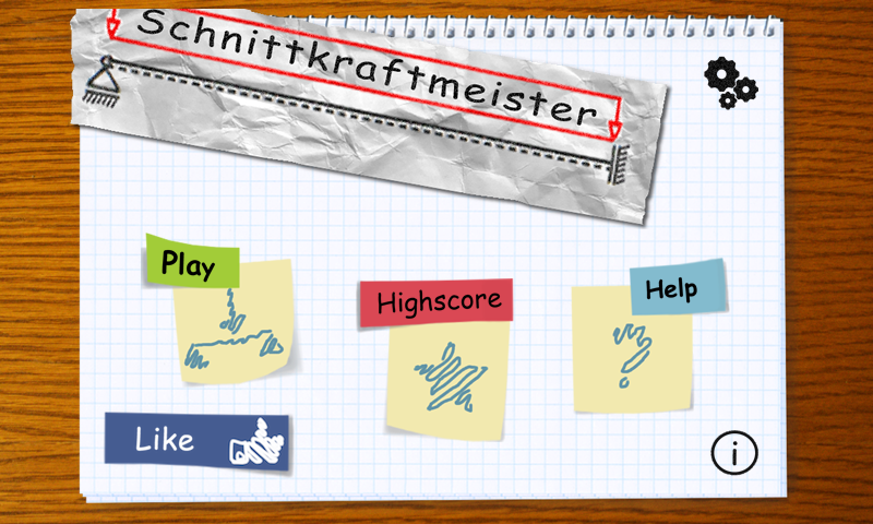 Schnittkraftmeister- screenshot