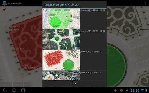 mesurer des distances avec application google heart