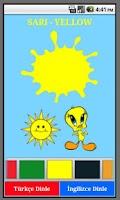 Screenshot of Renkleri Öğrenelim