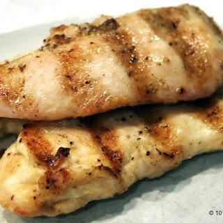 Grilled Chicken Tenders.