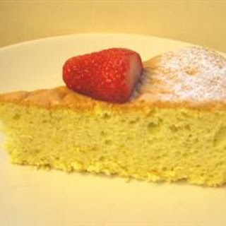 Lemon Sponge Cake II
