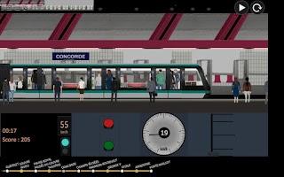 Screenshot of Paris Métro Simulator