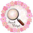 Cherry Blossom Search Widget icon