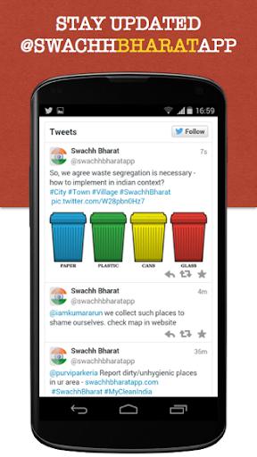 Swachh Bharat Clean India App 4.2.1 screenshots 8