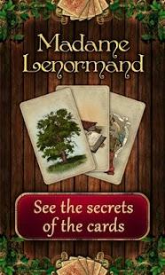 Tarot Madame Lenormand - náhled
