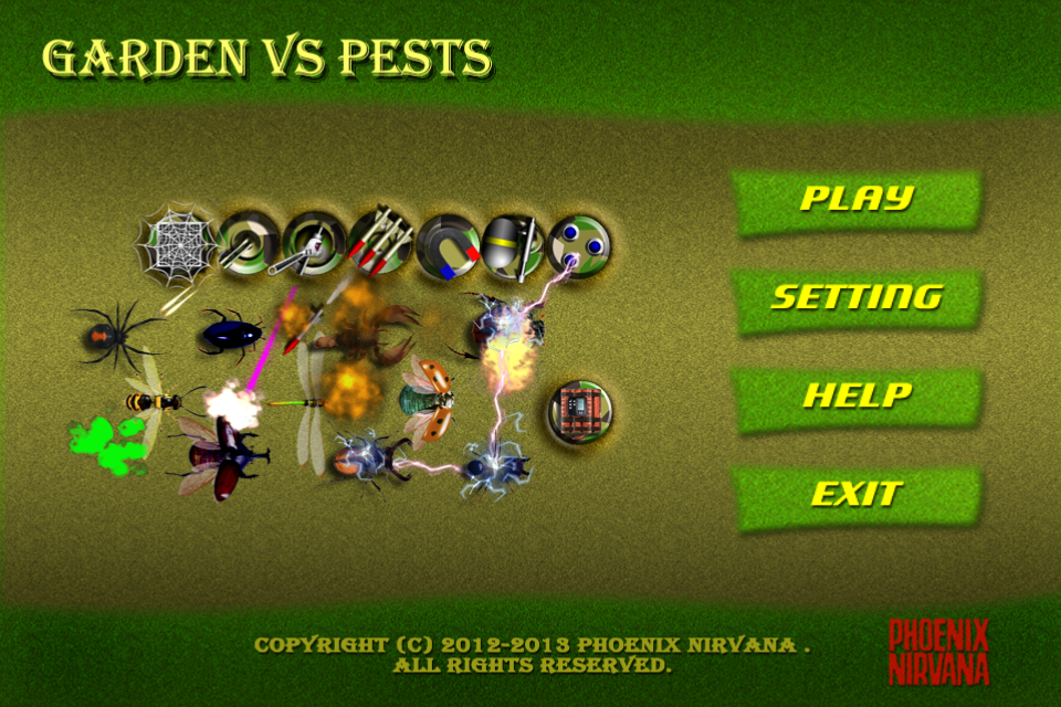 Garden vs Pests + - screenshot