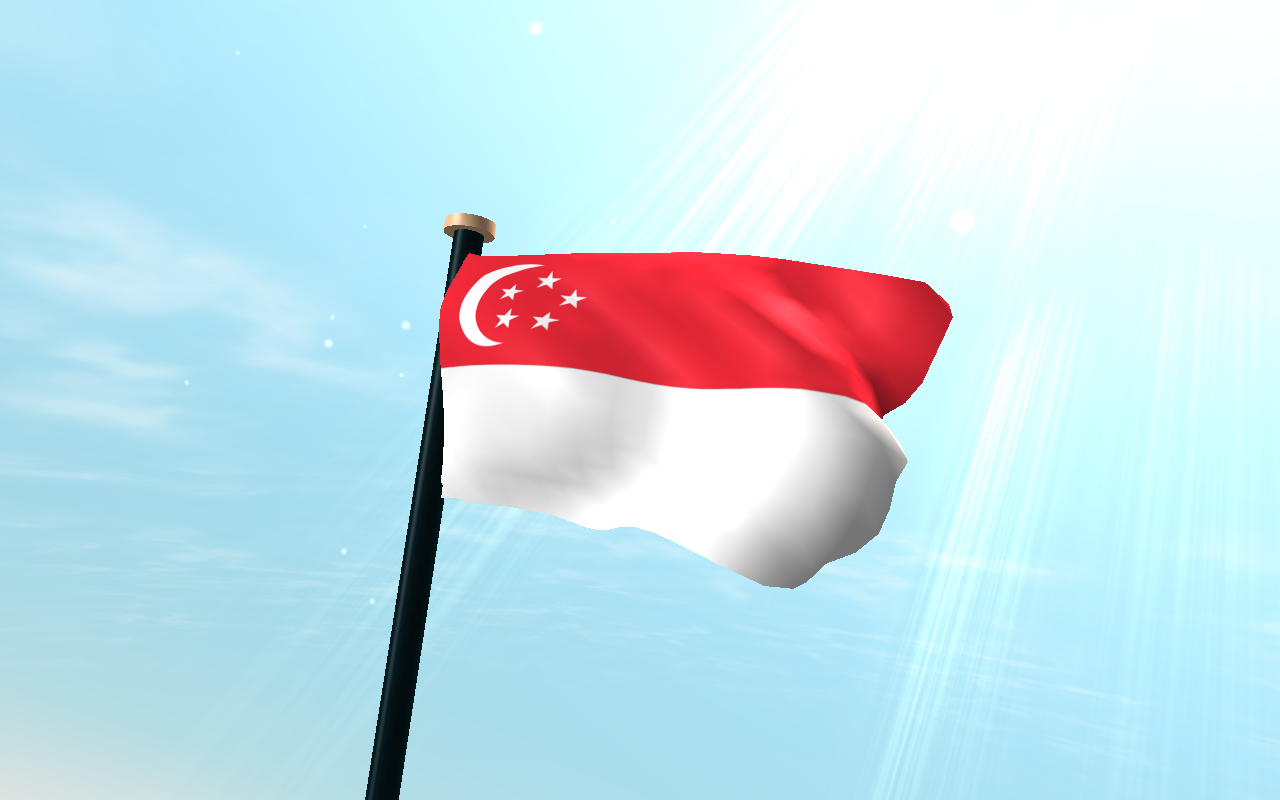 Singapore flag 3d wallpaper android apps on google play for 3d wallpaper for home singapore