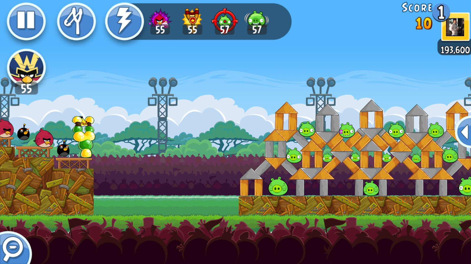 Angry Birds Friends - screenshot
