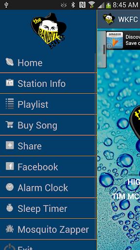 【免費音樂App】WKFC Bandit 101.9 Radio-APP點子