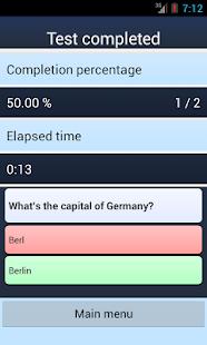Flashcard Quiz Creator - screenshot thumbnail