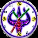 Shiva Trishul Clock