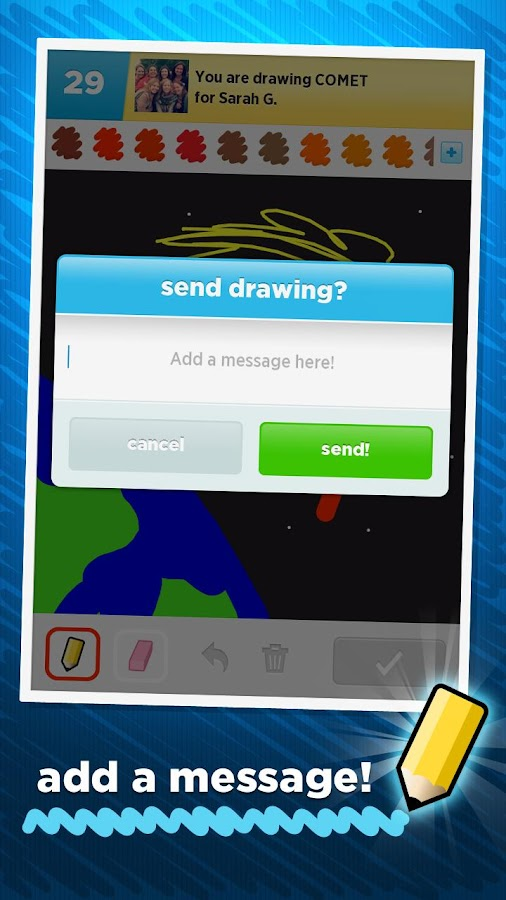 Draw Something Free - screenshot