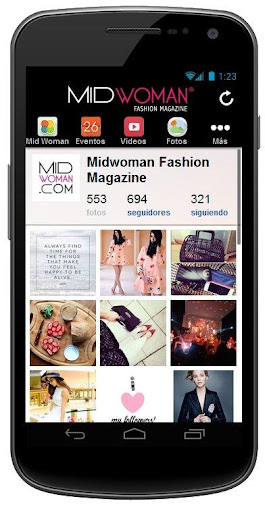 【免費新聞App】MidWoman Fashion Magazine-APP點子