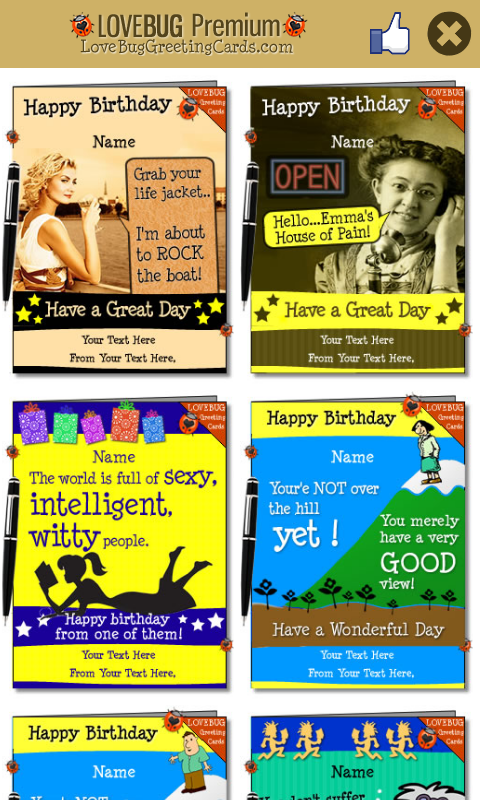 Free Greetings Cards - screenshot