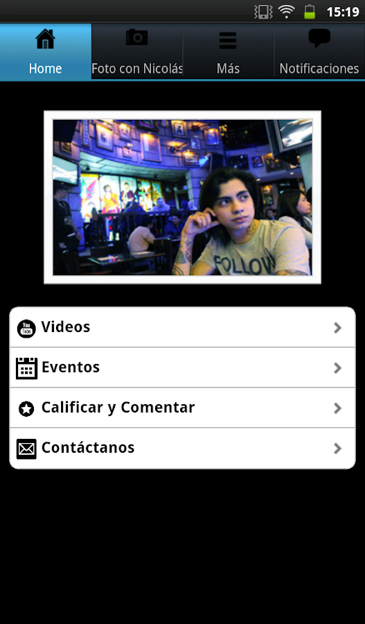 Nicolás Arrieta - screenshot