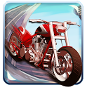 Stunt moto icon