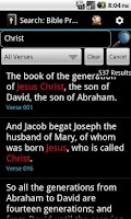 Screenshot of Bible KJV Offline - PRO