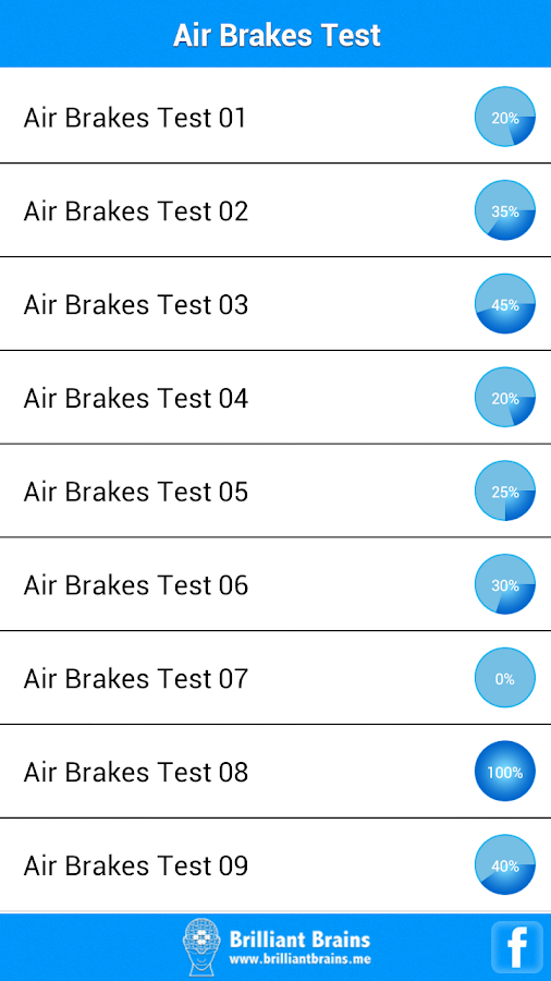 Air Brakes Test - screenshot