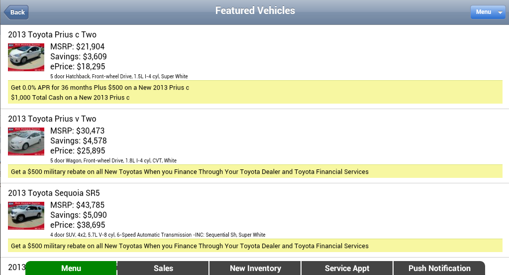 World Toyota- screenshot