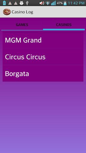 【免費生活App】Casino Log-APP點子