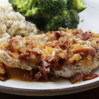 Chicken with Cider & Bacon Sauce