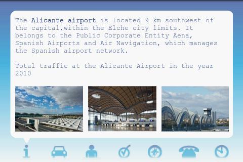 Screenshot 1 Alicante Airport