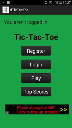 Android Tic-Tac-Toe