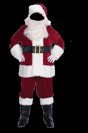 Santa Clause Suit Photo