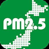 [PM2.5]大気汚染予報[黄砂]