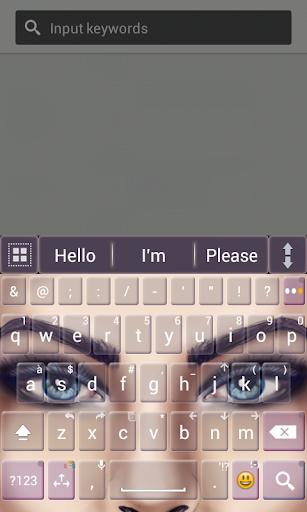 A.I.Type Theme Gallery Eyes א