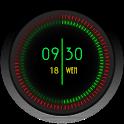 Neon Clock Widgets for Zooper icon