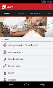 Baby and Child First Aid- screenshot thumbnail