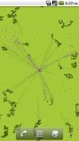 Screenshot of Pixel Ants Live Wallpaper