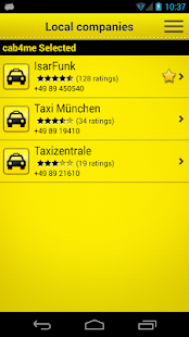 cab4me taxi finder - screenshot thumbnail