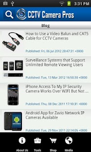 CCTV Camera Pros Mobile - screenshot thumbnail