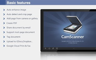 Screenshot of CamScanner HD (License)