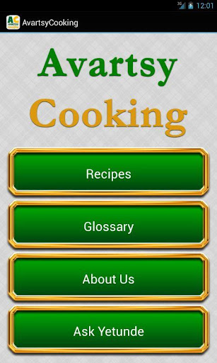Avartsy Cooking