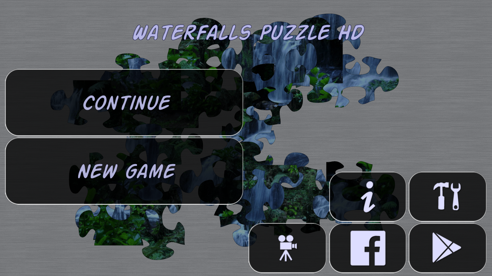 Waterfalls Puzzle HD - screenshot