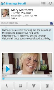 VisionMail Visual Voicemail- screenshot thumbnail