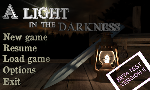 A Light In The Darkness RPG