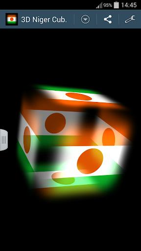 3D Niger Cube Flag LWP