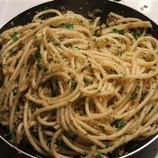 Sicilian Anchovy Spaghetti