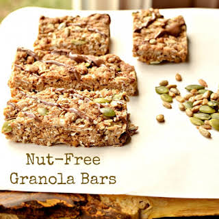 Delicious and Chewy Homemade Granola Bars for Nut-Free Kids.