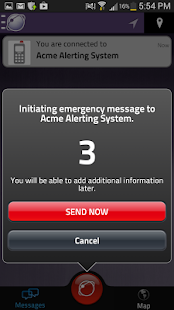 how to find emergency alerts in android note 8
