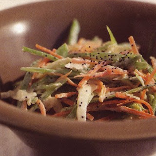 Summer Slaw with Poppy Seed Dressing