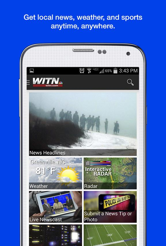 WITN News- screenshot