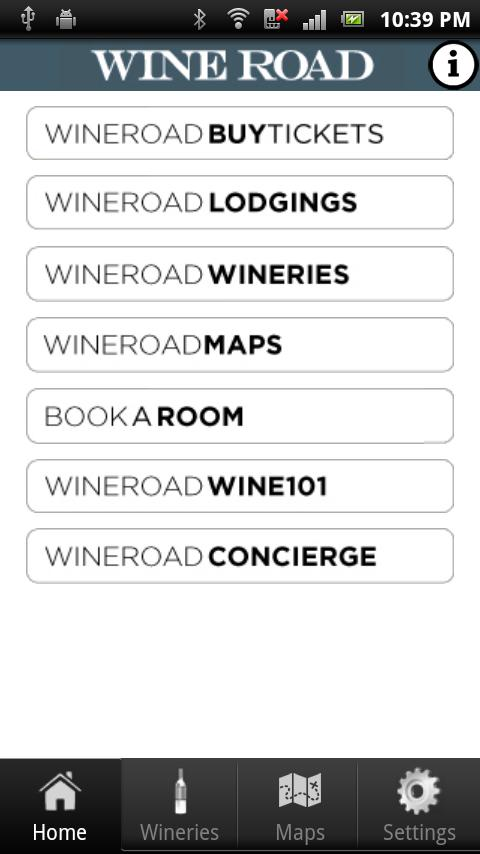 Wine Road : Northern Sonoma- screenshot