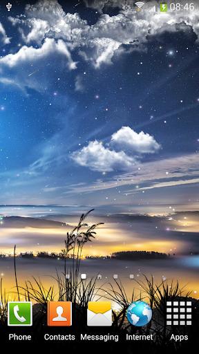 Falling Stars Live Wallpaper